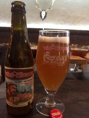 Bière Saint Monon au miel - Rochefort - www.labierebaladeuse.com